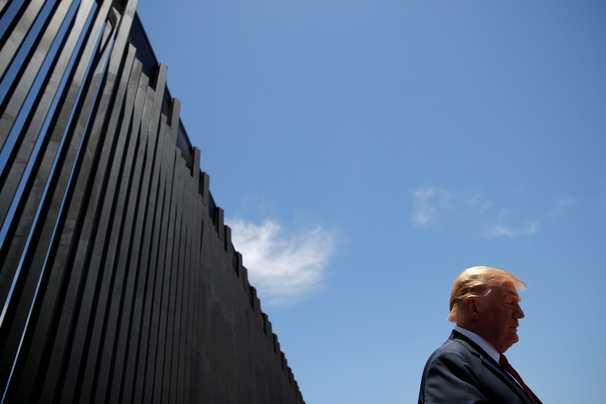 Arrests along Mexico border jumped 40% last month, despite Trump administration's immigration crackdown