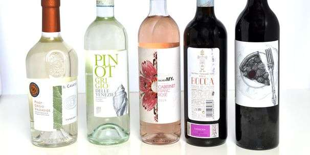 At $12, these two white wines prove that pinot grigio doesn't always mean boring