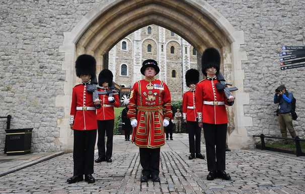 Beefeaters guarding the Tower of London face job cuts for first time in history