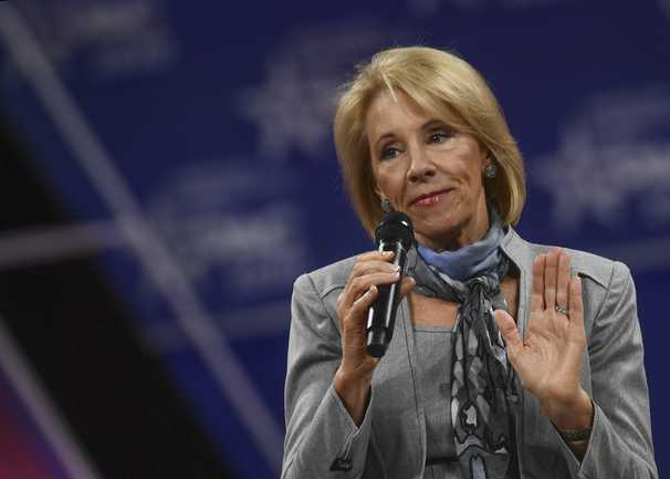 Betsy DeVos wants you to ignore reality