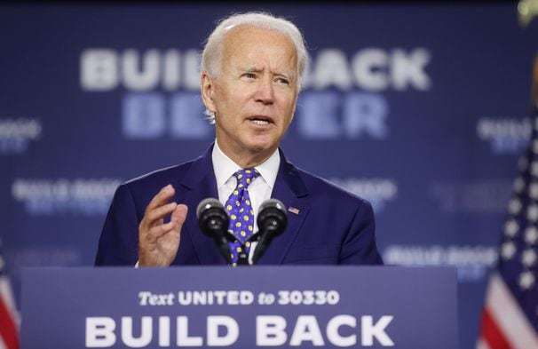 Biden announces plans to boost black and Latino finances