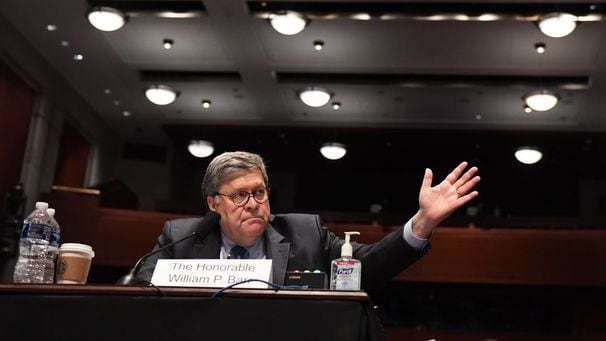 Democrats seek to shame Barr over politics at the Justice Department