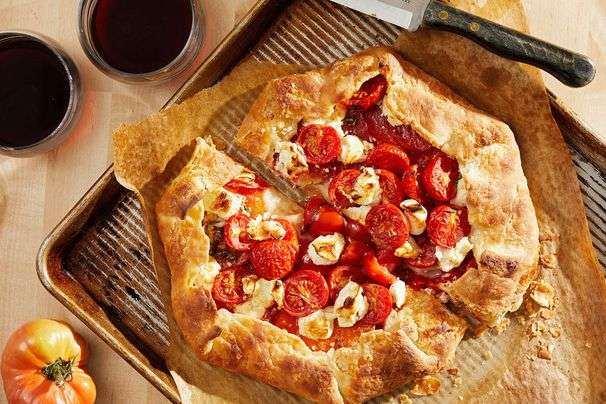 Dress up your at-home dinner with these simple, pretty recipes