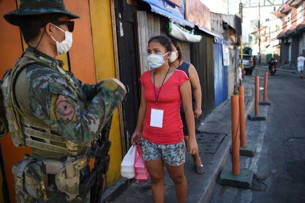 Duterte turns to drug-war tactics to fight pandemic in the Philippines