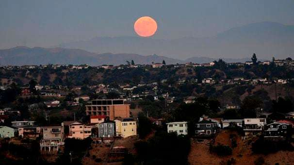 Ever wondered why you can see the moon sometimes during the day?
