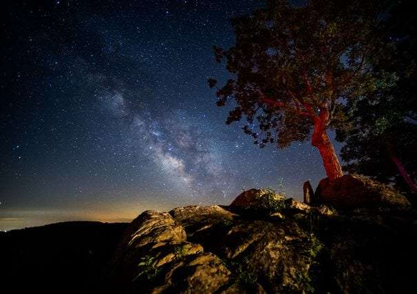For the best stargazing, head to a patch of dark sky