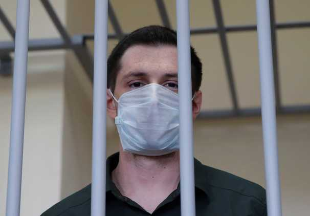 Former Marine gets nine years in a Russian jail over a drunken incident he says he cannot remember