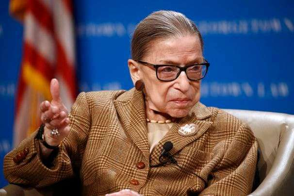 Ginsburg back in hospital for a nonsurgical procedure