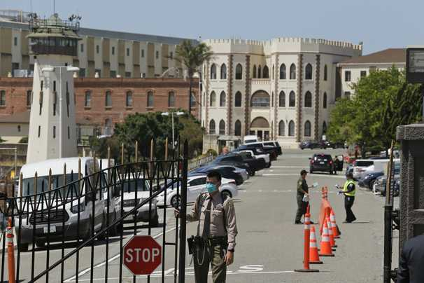 Inside San Quentin prison, you sit and wait until covid-19 comes for you