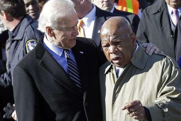 Joe Biden to pay respects to John Lewis on Monday in Washington
