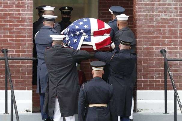 Lewis's body to be brought past D.C. civil rights sites before viewing at U.S. Capitol