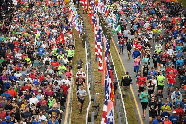 Marine Corps Marathon is canceled for the first time in its 45-year history