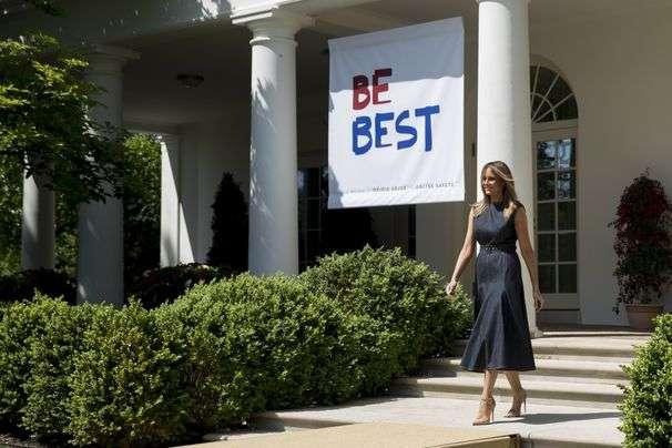 Melania Trump's Rose Garden redo draws criticism, but it's long overdue