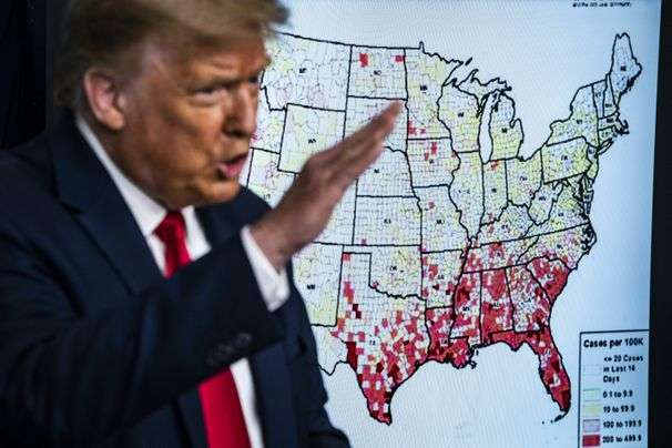 One question still dogs Trump: Why not try harder to solve the coronavirus crisis?
