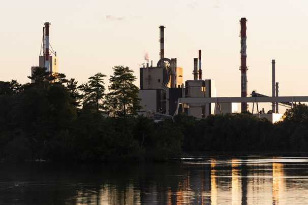 Pandemic kills off century-old paper plant, and a region reels