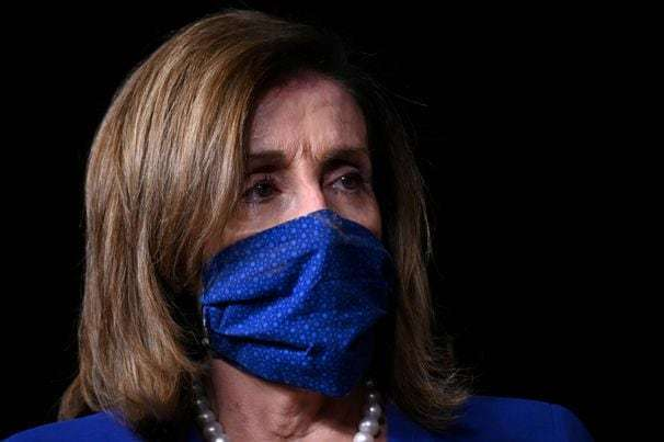 Pelosi makes mask wearing mandatory for anyone on the House floor