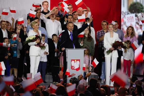 Poland's narrow election has big consequences for its democratic future