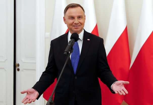 Polish president Duda squeaks a second term, electoral commission says