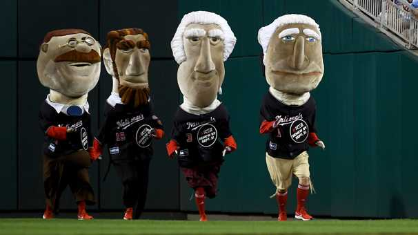 Racing Presidents won't be inside Nats Park, but the fourth-inning show will go on