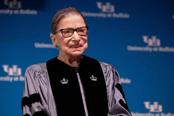 Ruth Bader Ginsburg 'home and doing well' after hospitalization