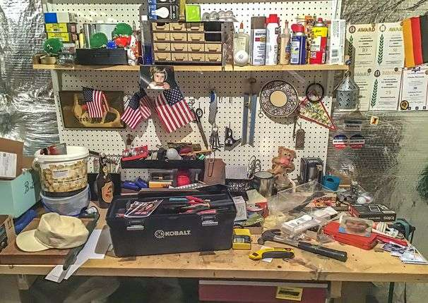 Second Glance: Work bench, July 26, 2020