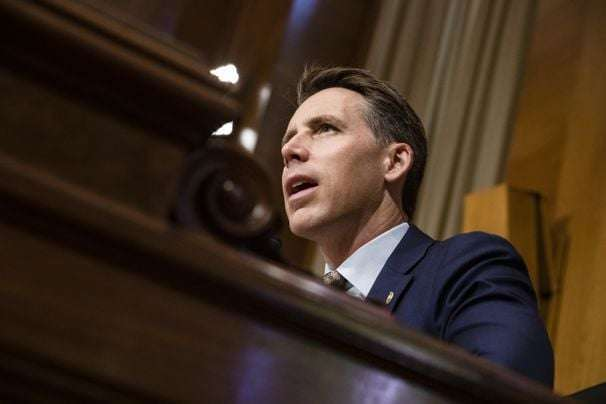 Sen. Hawley lays down new antiabortion marker for Supreme Court nominees