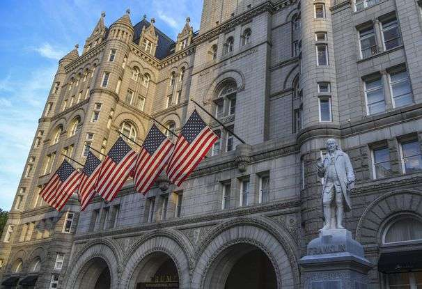 Trump attended a fundraiser without a mask. The city sent an investigator to inspect his hotel.
