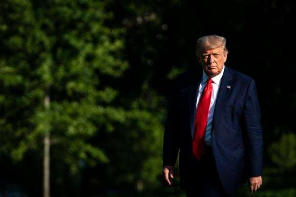 Trump defends bungled handling of coronavirus with falsehoods and dubious claims