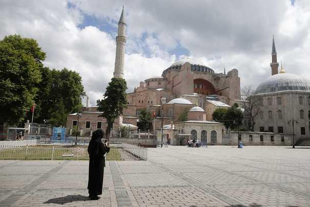 Turkey's Erdogan announces Hagia Sophia museum will become a mosque again