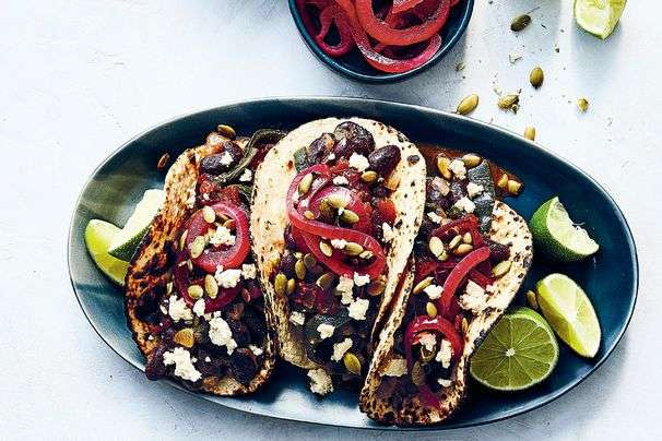 5 simple, summery tacos to get dinner on the table quickly
