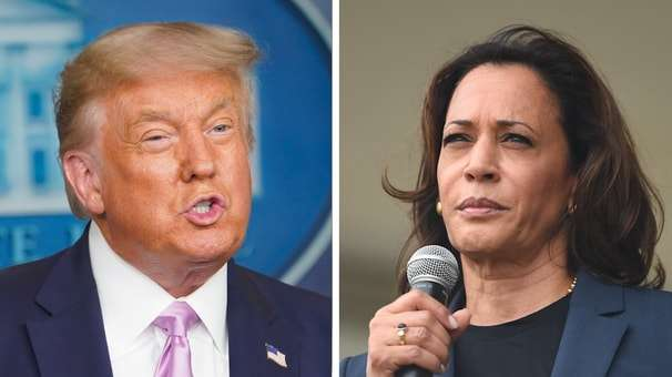 Election 2020: Harris praises Biden's 'audacity'; letter carriers union endorses Biden