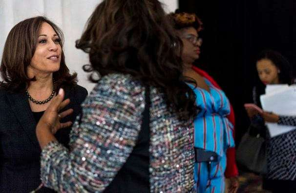 Harris's wooing of Black activists paved a path to the ticket