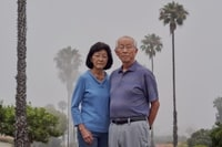 """Image: Howard Kakita, one of the last American survivors of the Hiroshima bombing, feels """"a responsibility"""" to share his part of history. He and his wife, Irene, live in California, where he has repeatedly recounted his story in recent years. (Philip Cheung for The Washington Post)"""