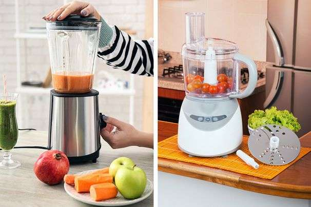 How to choose between food processors and blenders for your cooking projects