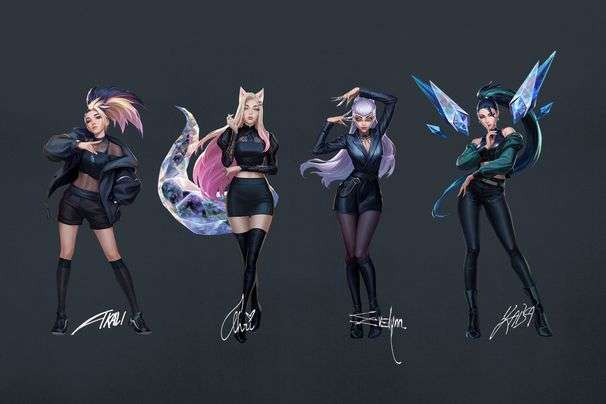 K/DA, the 'League of Legends' K-pop group, is back with a full EP