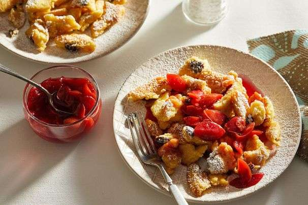 Kaiserschmarrn is the most beautiful, delicious mess of a pancake you'll ever make, and eat