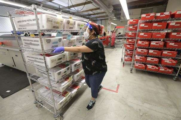 Postal Service warns 46 states their voters could be disenfranchised by delayed mail-in ballots