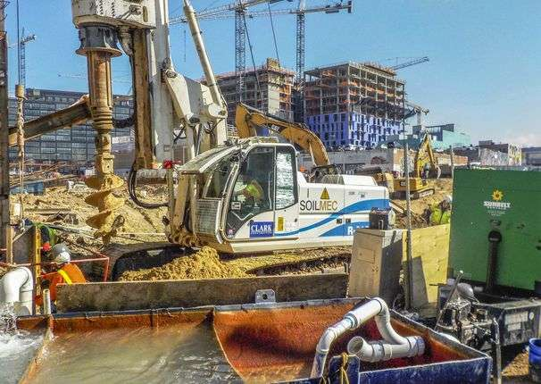 Second Glance: Construction, August 9, 2020