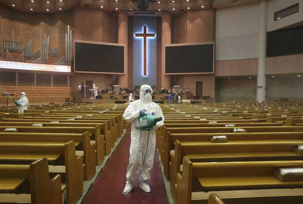 Seoul's churches and nightlife shut after covid cluster among anti-government congregation