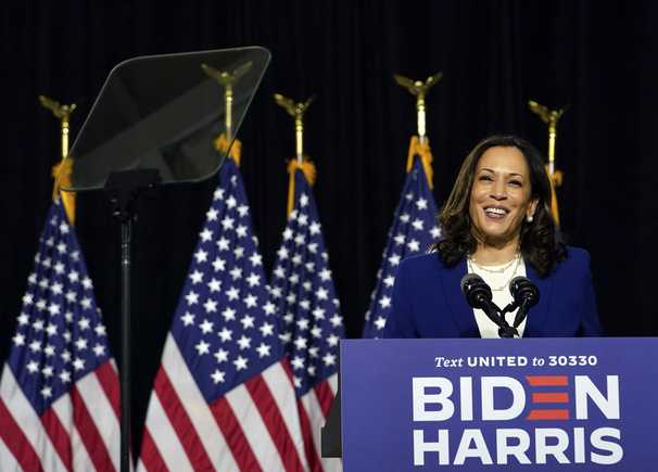 The election is a choice between Donald Trump — and Kamala Harris