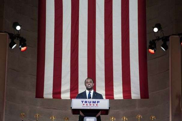 The Republican convention's speaker line-up was not subtle in its targeting