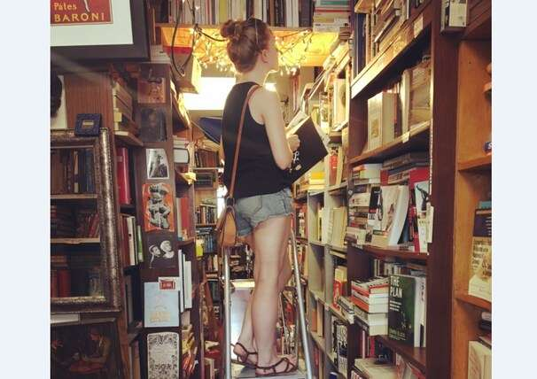 This woman hunts for photos and other treasures left in used books — then returns them to their owners