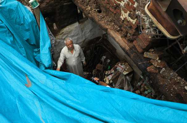 Torrential rain and floods batter the glorious ancient quarter of Yemen's capital
