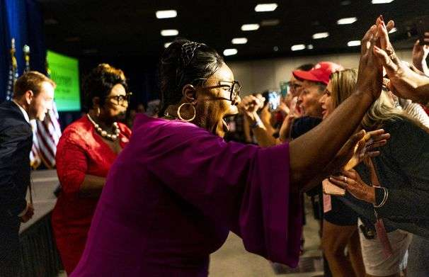 Trump's Black supporters bring attacks from the Internet to convention prime time, in answer to diverse Democratic ticket