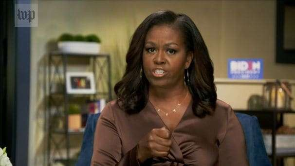 Trump's counterpunches to Michelle Obama's uppercut fall short