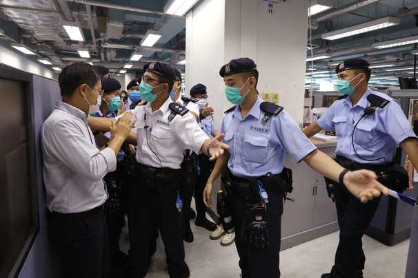 Who are Jimmy Lai and Agnes Chow, two of the Hong Kong democracy advocates arrested Monday?