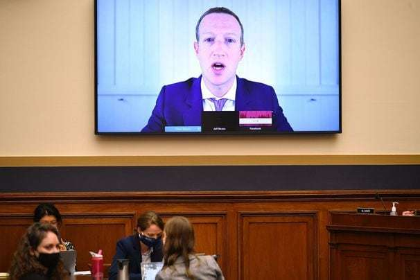 Zuckerberg acknowledges Facebook erred by not removing a post that urged armed action in Kenosha