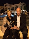 Carla and Silverio Polini, pictured in 2015 in Abano Terme, Italy, had been married for 52 years. They died nearly three hours apart in March.