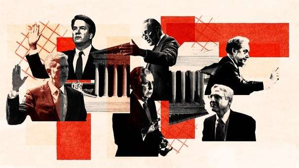 How three decades of partisan fighting and hypocrisy enabled Trump to reshape the federal judiciary