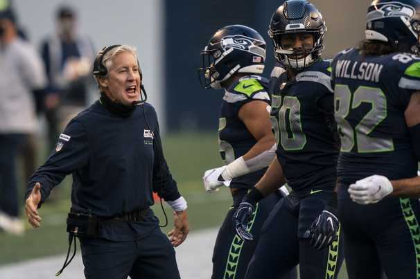 NFL hits Pete Carroll, Kyle Shanahan and Vic Fangio with $100K fines for mask violations